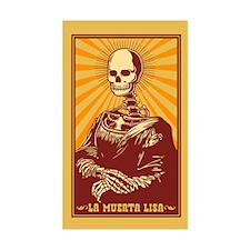 La Muerta Lisa Decal