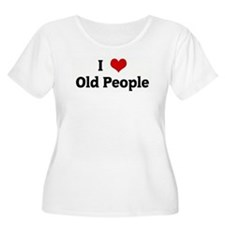 I Love Old People T-Shirt