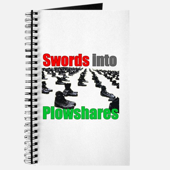 Swords into Plowshares Journal