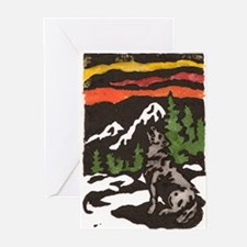 Wolf Song Greeting Cards (Pk of 10)