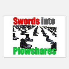 Swords into Plowshares Postcards (Package of 8)