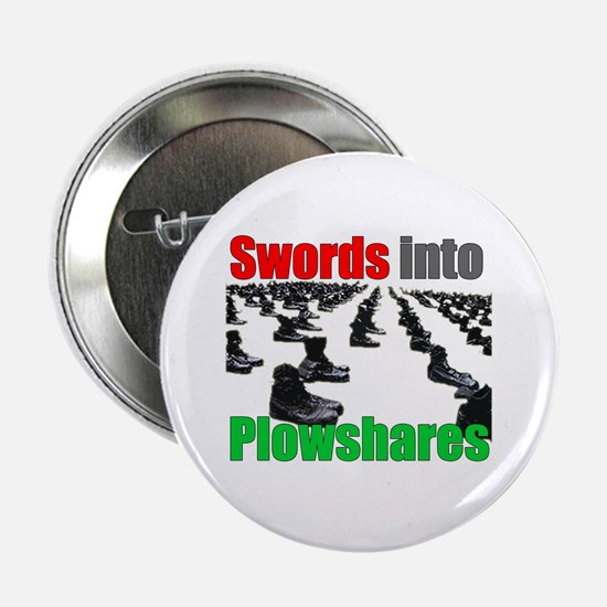 Swords into Plowshares Button