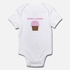 Gabrielle's First Birthday Cu Infant Bodysuit