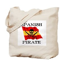 Spanish Pirate Tote Bag
