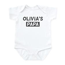 Olivias Papa Infant Bodysuit