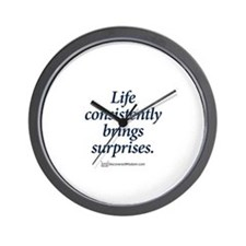 Cute Funny slogans Wall Clock