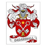 Casadevall Coat of Arms Small Poster