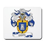 Casal Coat of Arms Mousepad