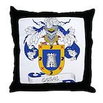 Casal Coat of Arms Throw Pillow