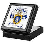 Casal Coat of Arms Keepsake Box