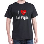 I Love Las Vegas (Front) Black T-Shirt