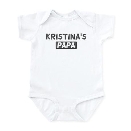 Kristinas Papa Infant Bodysuit