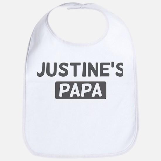 Justines Papa Bib