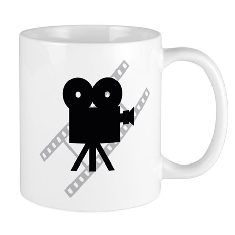Hollywood Film Camera Mug