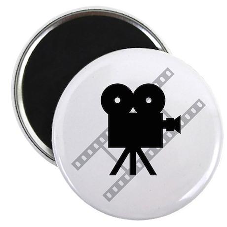 Hollywood Film Camera Magnet