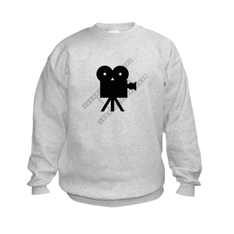 Hollywood Film Camera Kids Sweatshirt