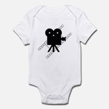 Hollywood Film Camera Infant Bodysuit