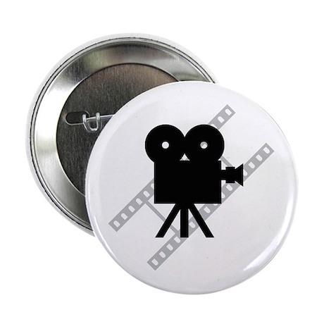 "Hollywood Film Camera 2.25"" Button"