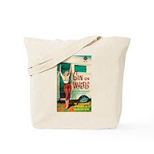 """Tote Bag - """"Sin On Wheels"""""""