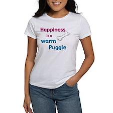 Happiness is a Warm Puggle Tee