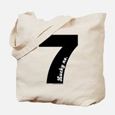 Lucky No 7 tote Bag