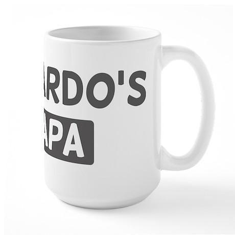 Eduardos Papa Large Mug