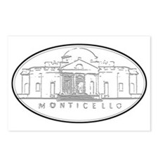 Monticello Postcards (Package of 8)