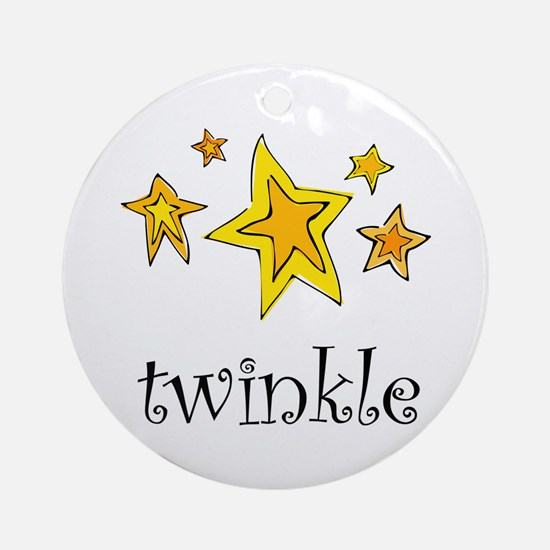 Twinkle Ornament (Round)