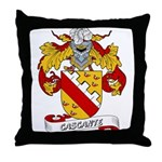Cascante Coat of Arms Throw Pillow