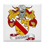 Cascante Coat of Arms Tile Coaster