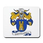 Castellvell Coat of Arms Mousepad