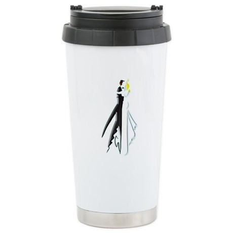 Wedding Journal Stainless Steel Travel Mug
