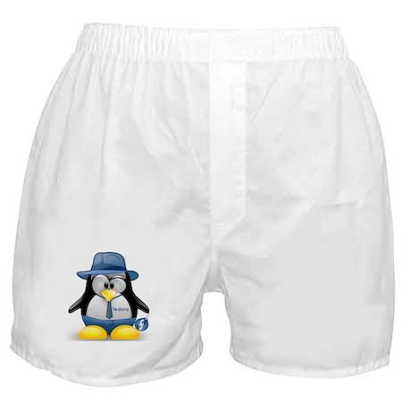 Fedora Tux Boxer Shorts