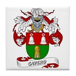 Cavero Coat of Arms Tile Coaster