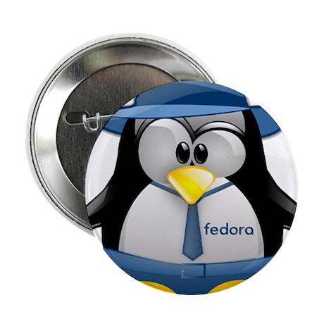 "Fedora Tux 2.25"" Button (100 pack)"
