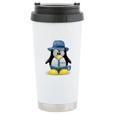 Fedora Tux Travel Mug