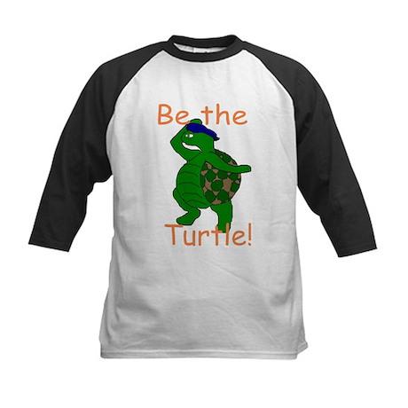 Be the Turtle Kids Baseball Jersey