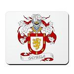 Cayuela Coat of Arms Mousepad
