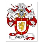 Cayuela Coat of Arms Small Poster