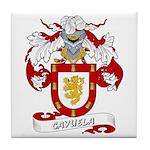 Cayuela Coat of Arms Tile Coaster