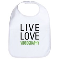 Live Love Videography Bib