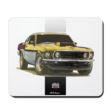 Mustang Boss 302 Mousepad