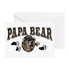 Papa Bear Father's Day Greeting Card