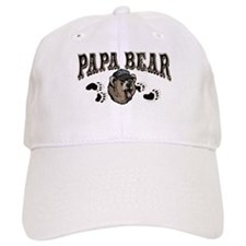 Papa Bear Father's Day Baseball Cap
