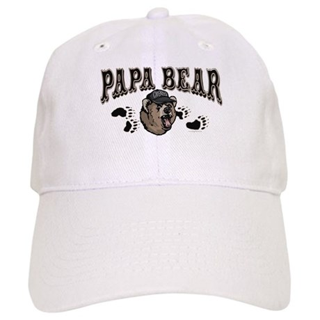 Papa Bear Father's Day Cap