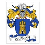 Ciurana Coat of Arms Small Poster