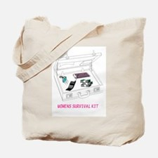 WOMENS SURVIVAL KIT Tote Bag