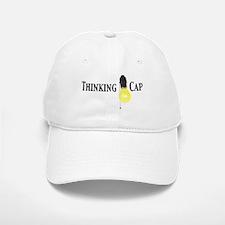 Thinking Baseball Baseball Cap - Baseball Baseball Cap