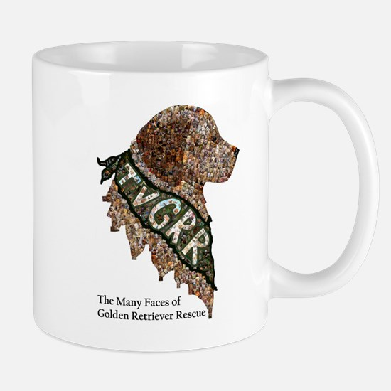 Mug- Golden Retriever Rescue Mosaic