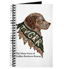 Journal- Golden Retriever Rescue Mosaic